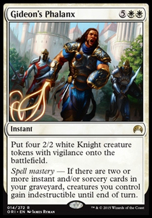 Gideon's Phalanx, Magic Origins