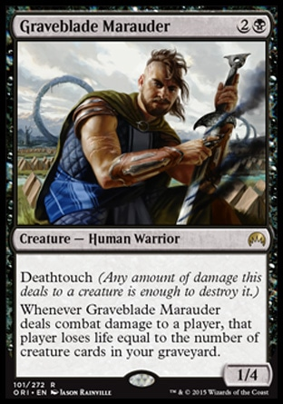Graveblade Marauder, Magic Origins