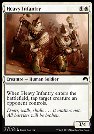Heavy Infantry, Magic Origins
