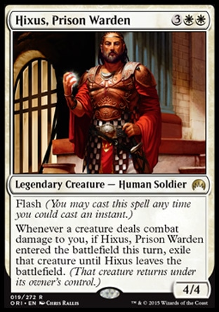 Hixus, Prison Warden, Magic Origins