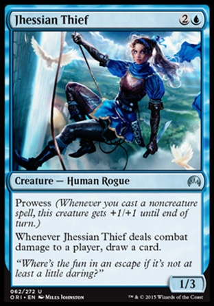 Jhessian Thief, Magic Origins