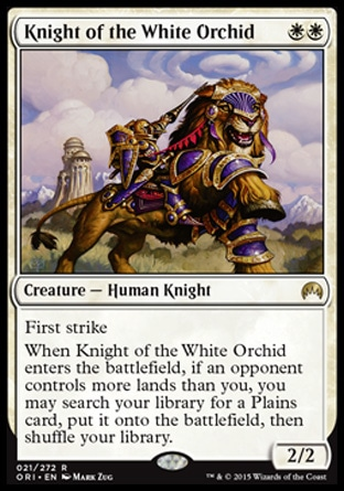 Knight of the White Orchid, Magic Origins