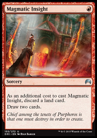 Magmatic Insight, Magic Origins
