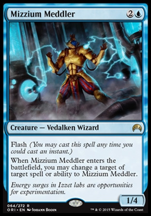 Mizzium Meddler, Magic Origins