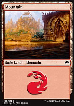 Mountain, Magic Origins