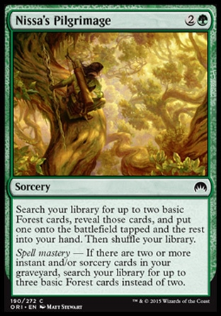 Nissa's Pilgrimage, Magic Origins