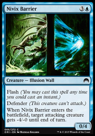 Nivix Barrier, Magic Origins