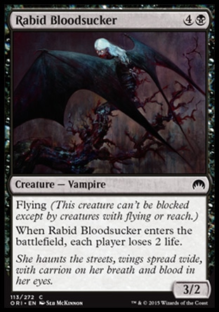 Rabid Bloodsucker, Magic Origins