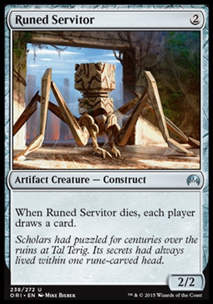 Runed Servitor, Magic Origins
