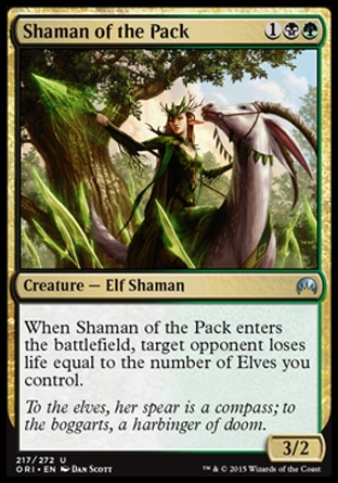 Shaman of the Pack, Magic Origins