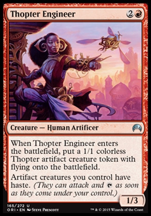 Thopter Engineer, Magic Origins