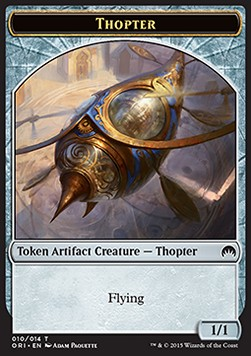 Thopter Token, Magic Origins