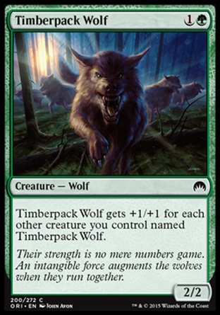 Timberpack Wolf, Magic Origins