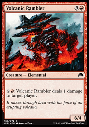 Volcanic Rambler, Magic Origins