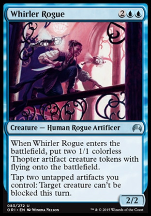 Whirler Rogue, Magic Origins