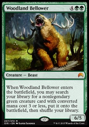 Woodland Bellower, Magic Origins