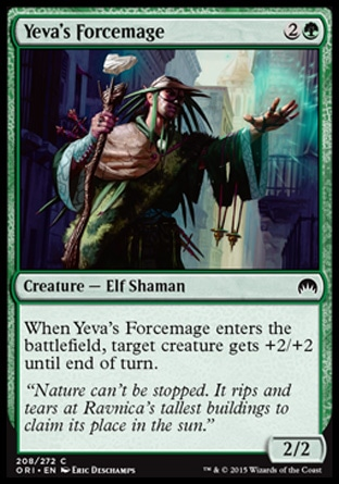 Yeva's Forcemage, Magic Origins