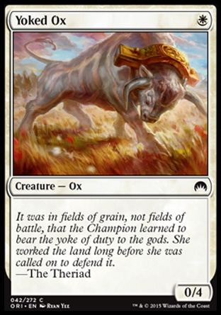 Yoked Ox, Magic Origins