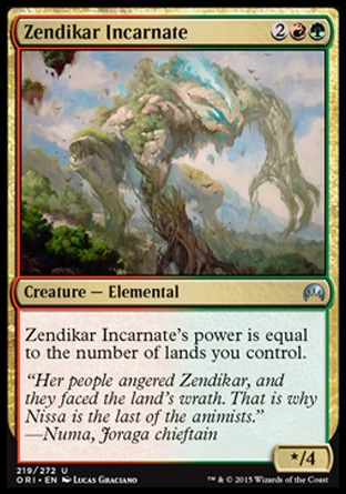 Zendikar Incarnate, Magic Origins