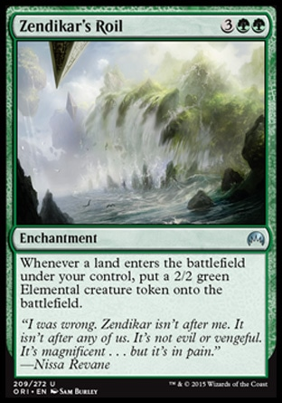 Zendikar's Roil, Magic Origins