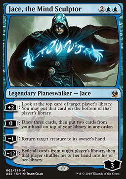 Jace, the Mind Sculptor, Masters 25