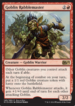 Goblin Rabblemaster, Media Inserts