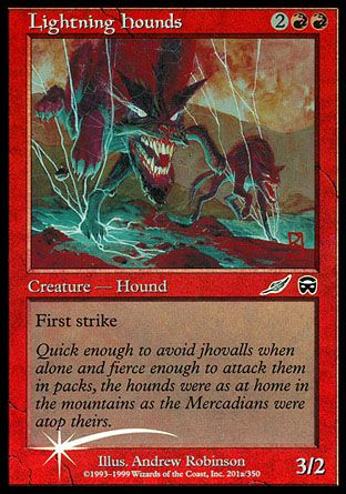 Lightning Hounds, Media Inserts