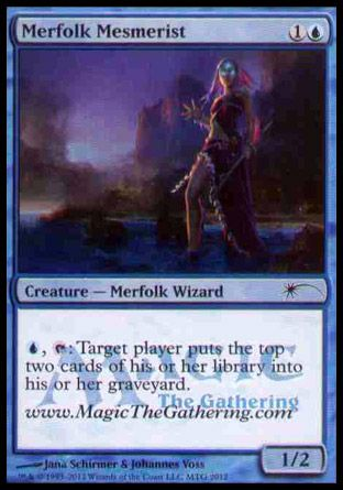 Merfolk Mesmerist, Media Inserts