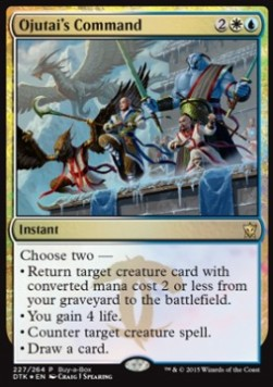 Ojutai's Command, Buy a Box Promos