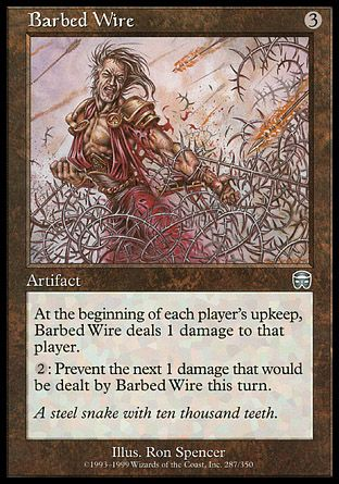 Barbed Wire, Mercadian Masques