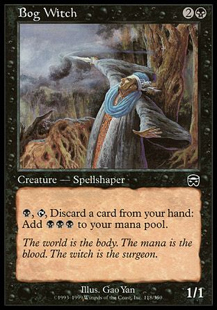 Bog Witch, Mercadian Masques