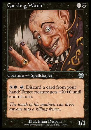 Cackling Witch, Mercadian Masques