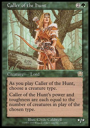 Caller of the Hunt, Mercadian Masques