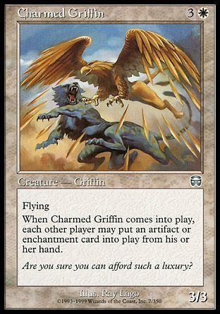 Charmed Griffin, Mercadian Masques