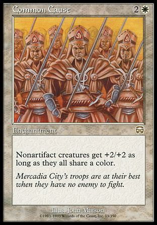 Common Cause, Mercadian Masques