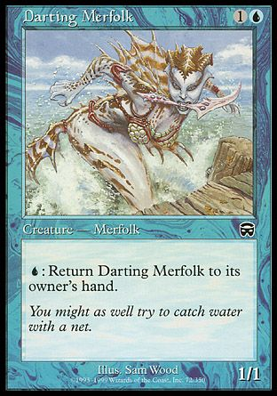 Darting Merfolk, Mercadian Masques