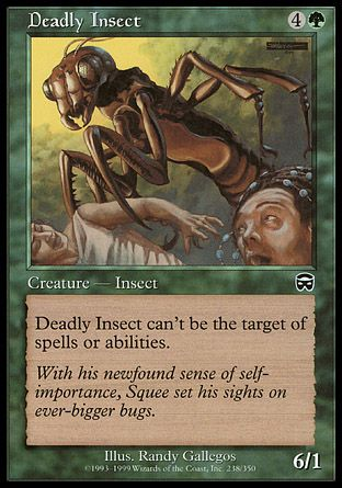 Deadly Insect, Mercadian Masques