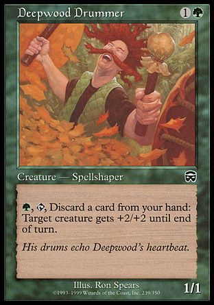 Deepwood Drummer, Mercadian Masques