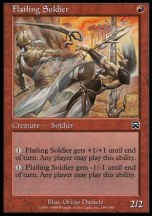 Flailing Soldier, Mercadian Masques