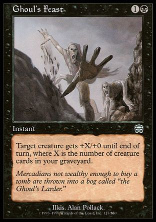 Ghoul's Feast, Mercadian Masques
