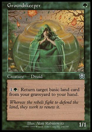Groundskeeper, Mercadian Masques