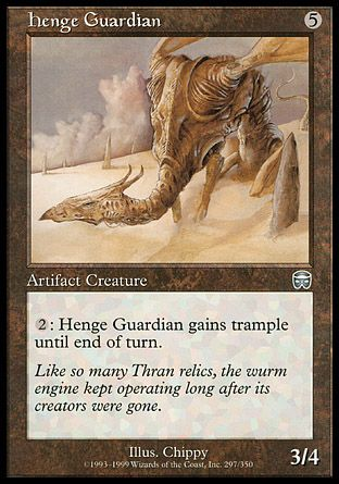 Henge Guardian, Mercadian Masques