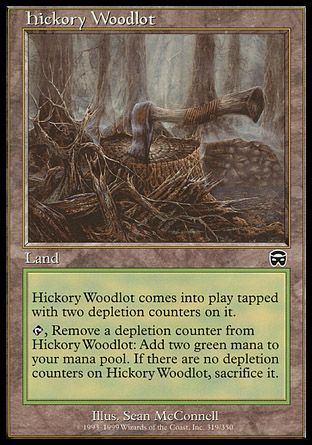 Hickory Woodlot, Mercadian Masques