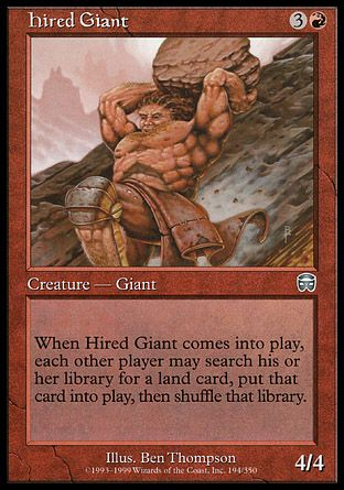 Hired Giant, Mercadian Masques