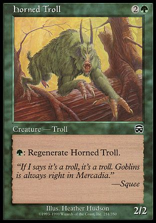 Horned Troll, Mercadian Masques