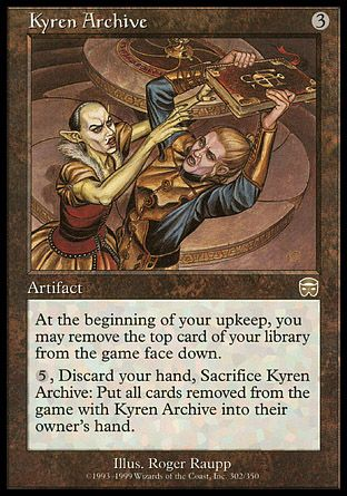 Kyren Archive, Mercadian Masques