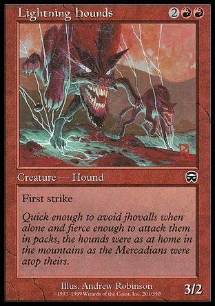 Lightning Hounds, Mercadian Masques