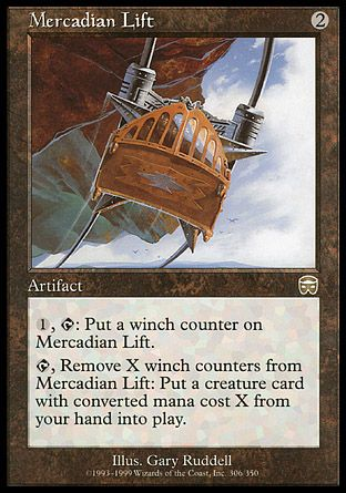 Mercadian Lift, Mercadian Masques