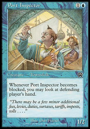 Port Inspector, Mercadian Masques