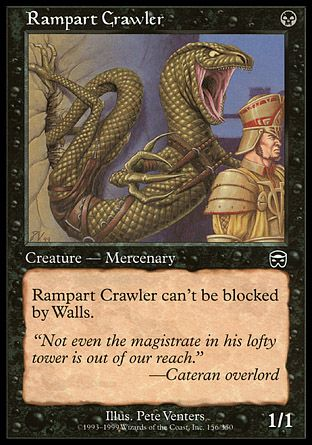 Rampart Crawler, Mercadian Masques